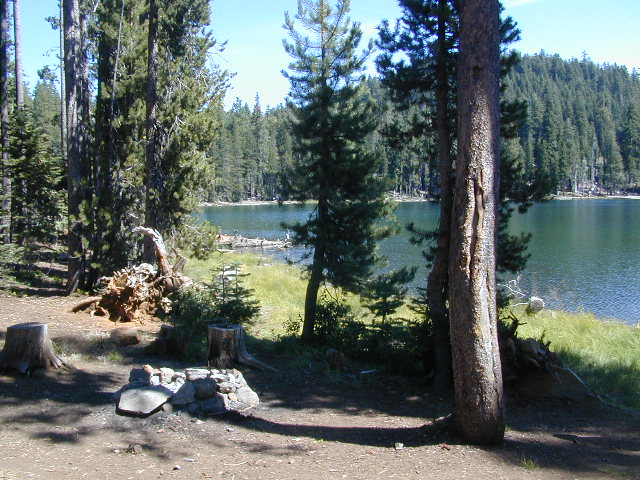 Camp at Echo Lake