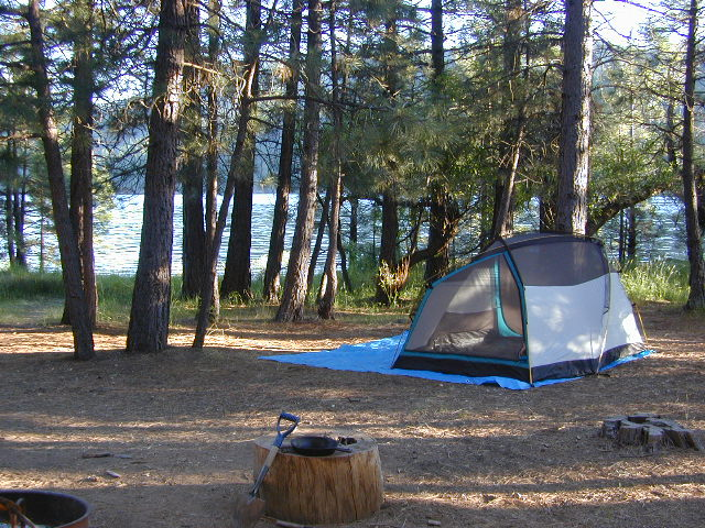 ponderosa flat campground total escape
