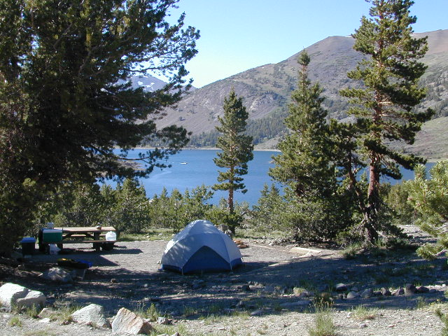 Yosemite Lake View Camp Sites