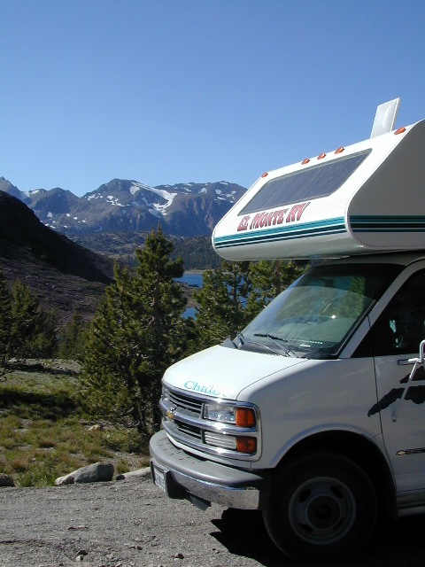 RV Camper Lake