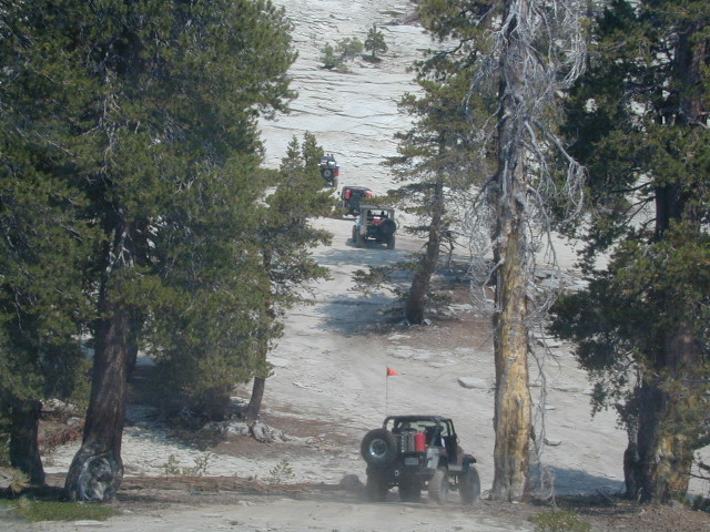 Jeepers on granite @ Bald Mtn, above Shaver Lake, CA