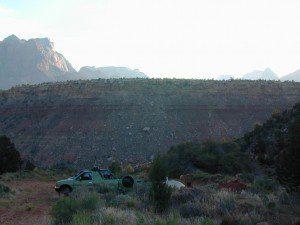 Zion Sunrise Mesa