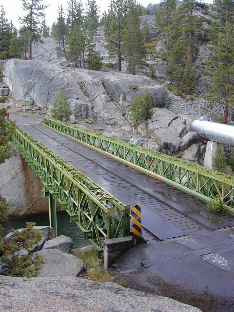 Green Bridge at San Joaquin Headwaters