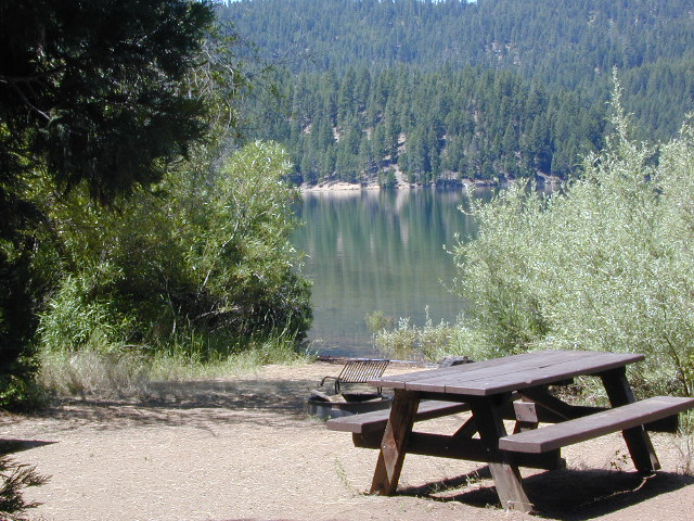 California Camping Lakes