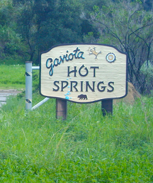 gaviota park signs