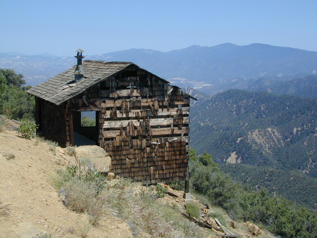 old cabin cuyama