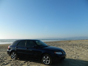 AWD on the sand
