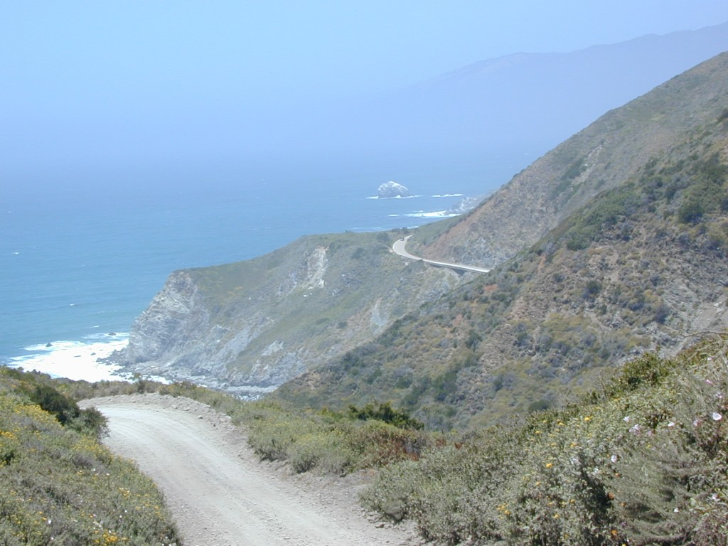 Big Sur Dirt Roads