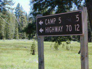 Camp 5 sign