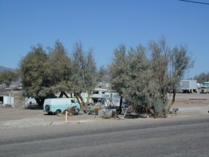 RV Campers Winter