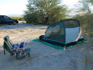BLM Desert Camping