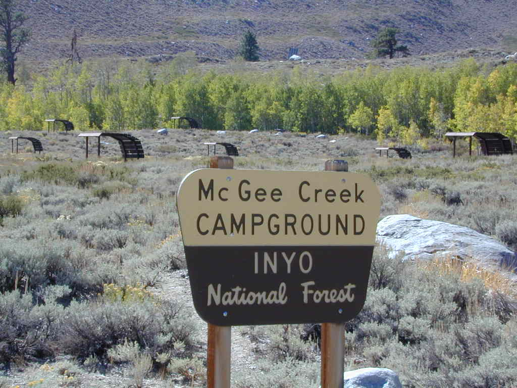 McGee Creek Campground