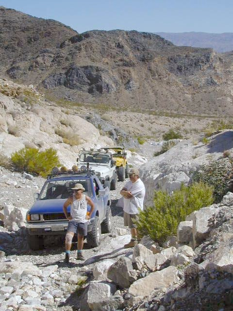 Canyons of Panamint Valley