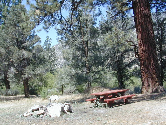 Secluded Camp Sites