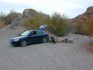 car camp mohave