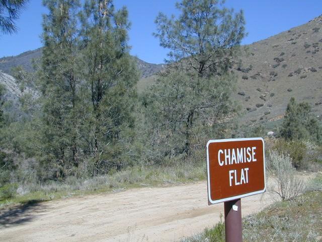 chamise flat