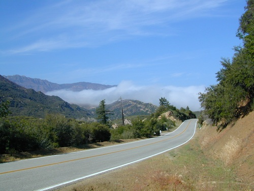 California 33 with Fog