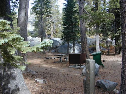 Small Camping Lake