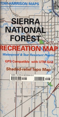 sierra National Forest map