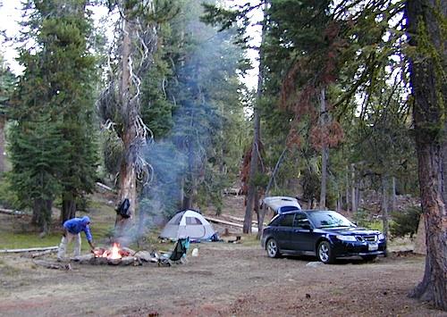 car camping lakes