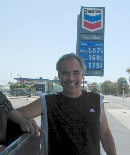 cheap gasoline