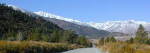 eastern sierra snowline