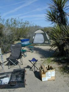 Camping Cottonwood