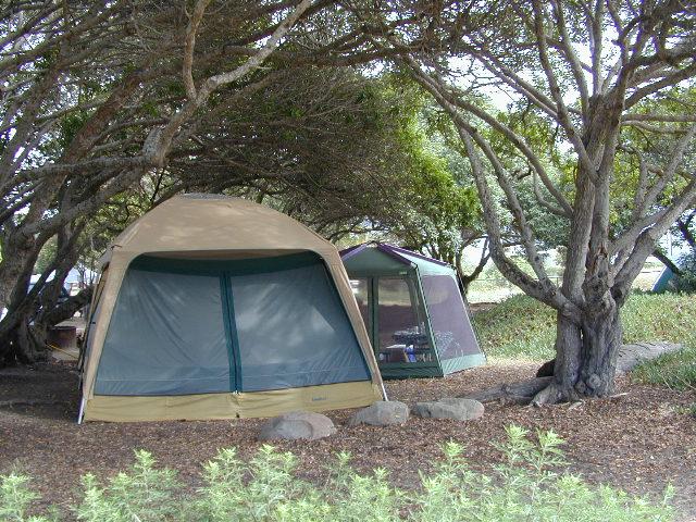 Tents at Capinteria