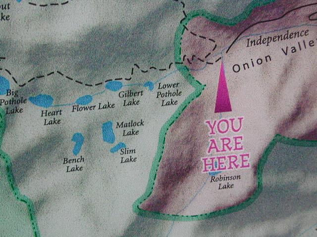 Eastern Sierra Lakes