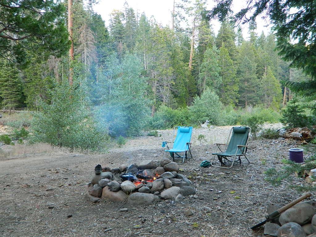Free Camping Lassen