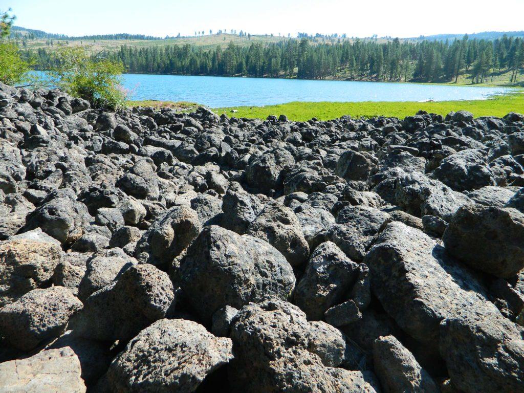 Lava Blue Lake