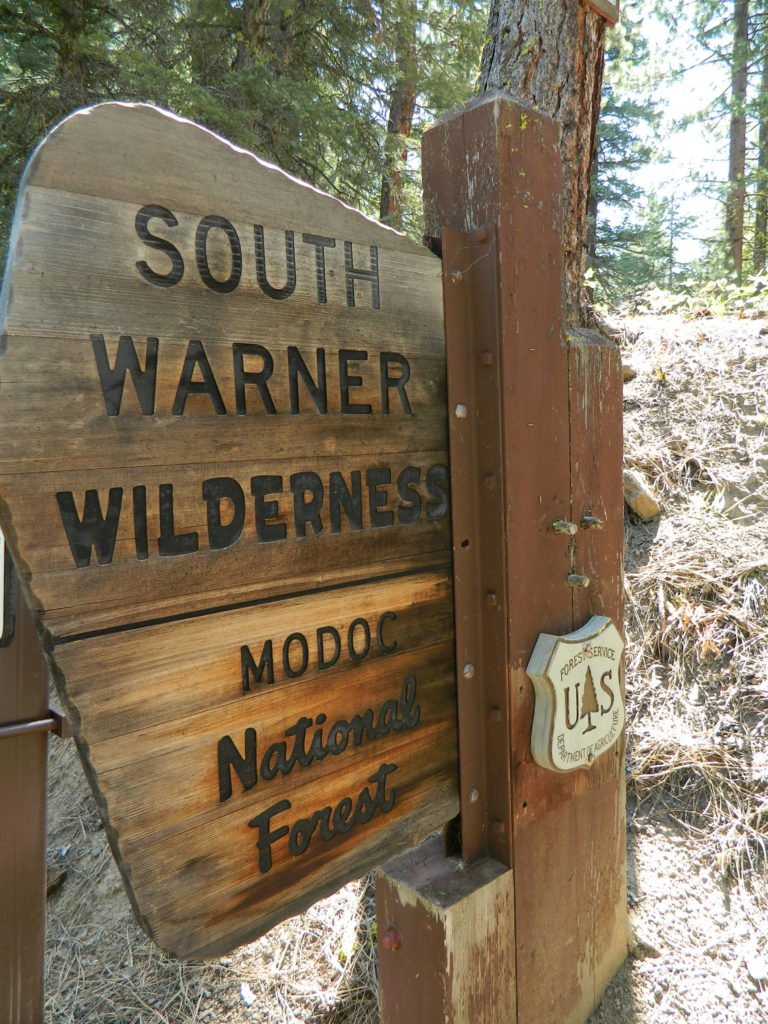 south warner sign